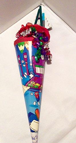Gefüllte Zuckertüte 35 cm für Studenten Lehrlinge und als Party Gag