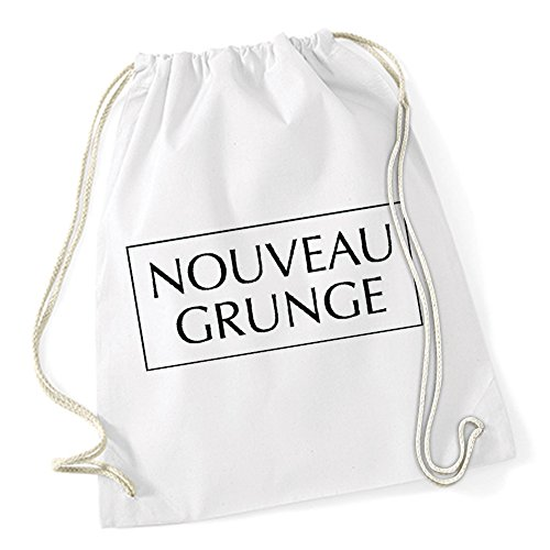 Nouveau Grunge Sac De Gym Blanc Certified Freak