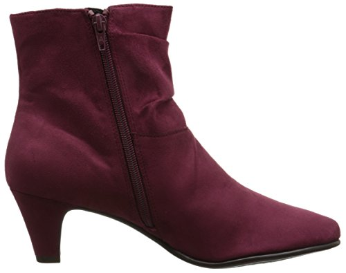 Aerosoles Red Light Rund Stoff Mode-Stiefeletten Wine