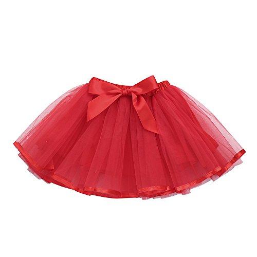 23cf6617e feiXIANG Linda Princesa del bebé Vestido Tutu niño niña Color sólido ...