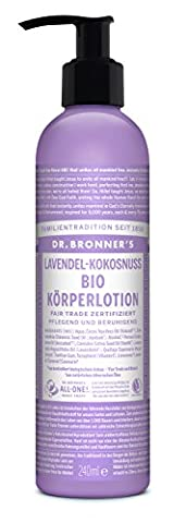 Organic Lavender Lotion - 236ml
