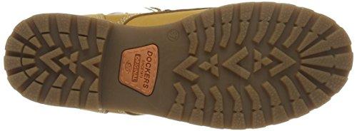 Dockers by Gerli - 35xe208-300910, Stivali a metà polpaccio con imbottitura leggera Donna Giallo (Gelb (GOLDEN Tan 910))