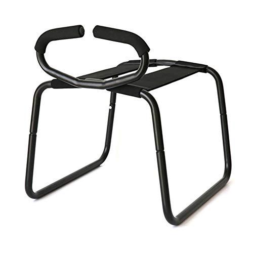 LanLan Multifunktions-Sex-Position Enhancer-Stuhl Neuheit Spielzeug mit Handlauf für Paare - Neuheit Stuhl