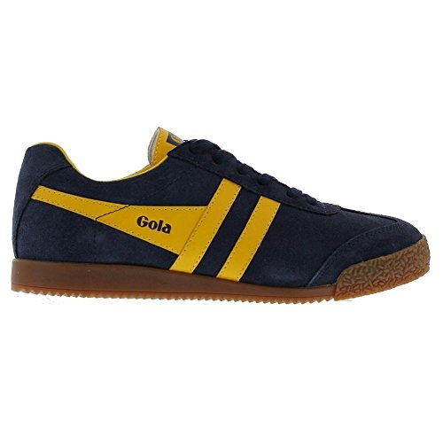 Gola Harrier, Damen Outdoor Fitnessschuhe, Blau (Blue/Yellow), 37 EU / 4 UK - Gola-damen Klassische Schuhe