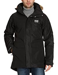 Helly Hansen Dublin - Parka para hombre, color negro (black), talla L