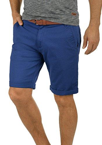 !Solid Montijo Chino Shorts Bermuda Kurze Hose Mit Gürtel Aus Stretch-Material Regular Fit, Größe:L, Farbe:Limoges (1839)
