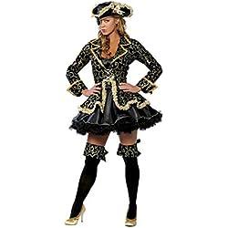 Traje de pirata para mujer.