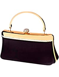 """SARAH KERN """"DIACRISIA"""" Design Handtasche, mit synthetischen Steinen besetzt, GLAM Kollektion, SW00356"""