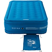 Relags Coleman Airbed Extra Durable Single/Double/Raised Double, Camping bed, Flocked Single/Double Air Bed, Inflatable Air Mattress, Heavy Duty Airbed, Comfort Blow Up Bed for Indoor and Outdoor Use