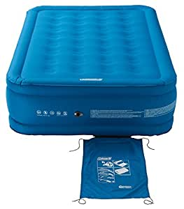 Relags Coleman Extra Durable Airbed Letto Gonfiabile, Unisex, Coleman Extra Durable Airbed, Blau, High Double