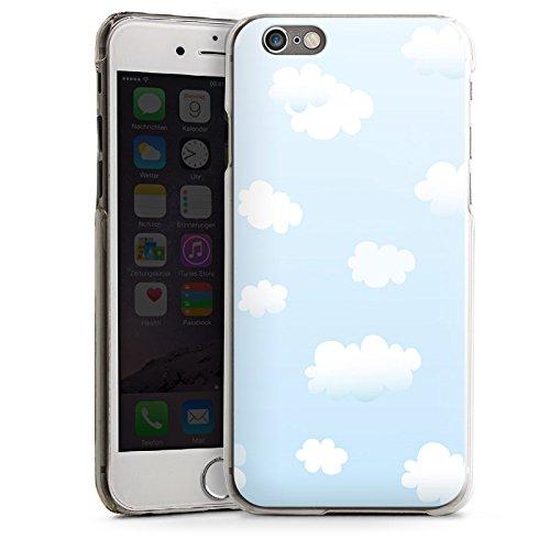 Apple iPhone 6 Housse Étui Silicone Coque Protection Nuages Ciel Motif de nuages CasDur transparent