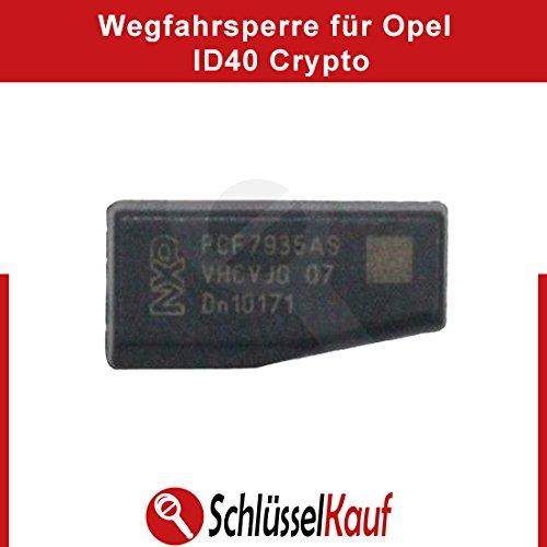 ID40 Transponder Chip Wegfahrsperre Crypto Chip Auto ID 40 passend für Opel