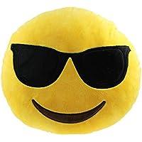 Comparador de precios Koly® Emoji Smiley Cojín Almohada - Coche Ministerio del Interior de accesorios de juguete de regalo (H) - precios baratos