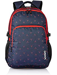Amazon Brand - Solimo Vogue School Backpack (40 litres, Blue)