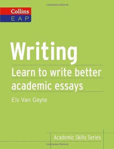Writing (Collins Academic Skills Series) by Geyte, Els Van (2013) Paperback