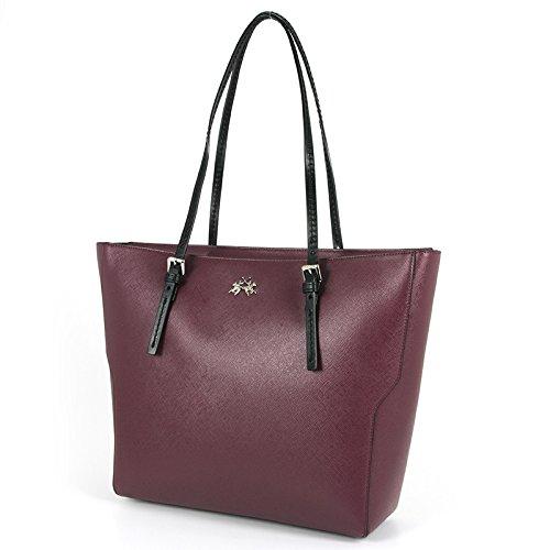 BORSA LA MARTINA ESTRELLA SHOPPING BAG 306 001 (BURGUNDY)