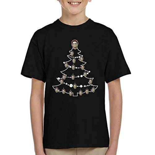 en Mike Myers Christmas Tree Baubles Kid's T-Shirt ()