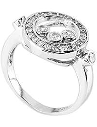Córdoba Jewels | Sortija en Plata de Ley 925 con diseño Zirconium Especial