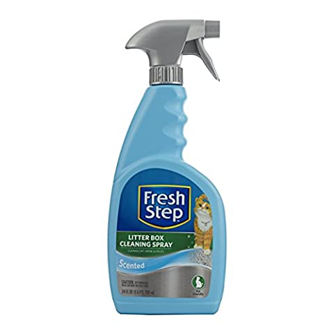 Fresh Step Litter Box Cleaning Spray-24oz