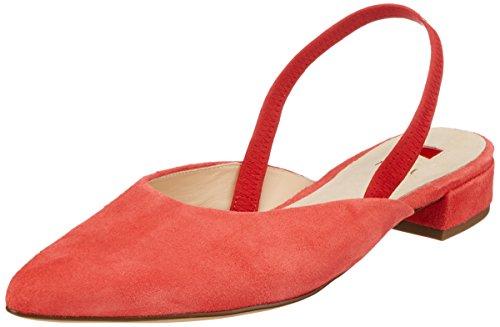 HÖGL Damen 5-10 2622 8900 Slingback Ballerinas, Orange (Koralle), 39 EU - Frauen Ballerinas Orange Schuhe