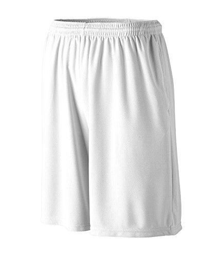 Augusta -  Pantaloncini sportivi  - Uomo Bianco - bianco