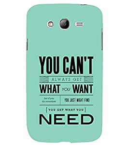 printtech Need Quote Back Case Cover for Samsung Galaxy Grand 2 G7102::Samsung Galaxy Grand 2 G7106