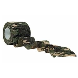 Adhésif de camouflage réutilisable - Camouflage Woodland - Miltec