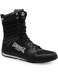 Lonsdale Compétiteur Boxe Haute Bottes - Noir-blanc