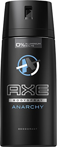 Axe Deospray Anarchy for Him ohne Aluminium, 3er Pack (3 x 150 ml)