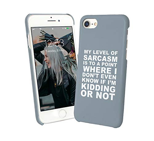 Sarcasm Point Kidding Day Quote_006048 Phone Case Cover Handyhulle Handyhülle Handy Hülle Schutz for Samsung Galaxy S7 Funny Gift Christmas