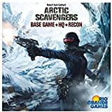 Arctic Scavengers Board Game: Base Game + HQ + Recon Expansions