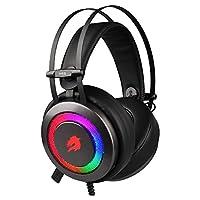 GameBooster H16 Storm, 5 Renk LED Aydınlatmalı 7.1 Oyuncu Kulaklığı, Gri