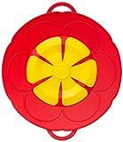 Kochblume Deckel Blume XS, Silikon, Rot, 22cm