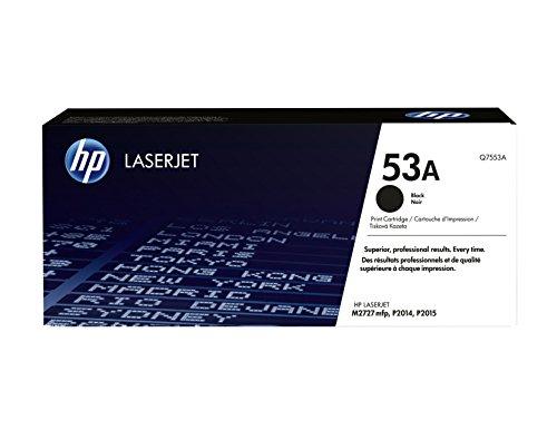 HP 53A (Q7553A) Schwarz Original Toner für HP Laserjet P2014, P2015, P2015dn,...