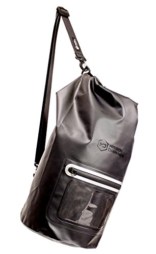 Mission Darkness Dry Shield Faraday Tote 15L/kg. Waterproof Dry Bag for Electronic Device Security & Transport/Signal Blocking/Anti-Tracking/EMP Shield/Data Privacy for Phones, Tablets, Laptops 4g Shield