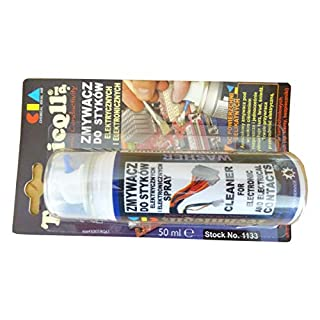 CLEANER FOR ELECTRONIC AND ELECTRICAL CONTACTS FUSES 50ml High Quality NEW