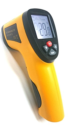 Perfect-Prime TM0826 Non-Contact IR Infrared Digital Temperature Thermometer Laser Point Gun -50℃ ~ 550℃