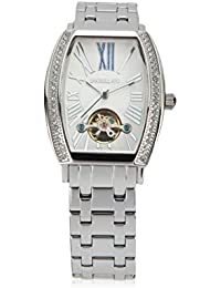 Morellato Time - R0153120502 - Montre Femme - Automatique Analogique - Cadran Blanc - Bracelet Acier Argent