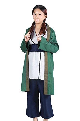 De-Cos Naruto shippuden Cosplay Costume Fifth Hokage Tsunade Kimono Set