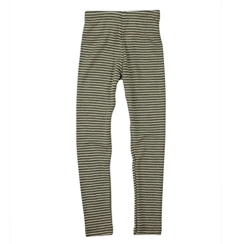Engel, Legging, lange Unterhose, Wolle Seide, Grösse 92 - 176, 5 Farben (176, Walnuss/Natur) -