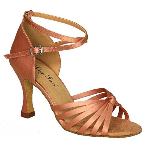 Primavera ed estate/latino scarpe per adulti/morbido fondo scarpe da ballo le donne/scarpe da ballo liscio GB-B Lunghezza piede=25.8CM(10.2Inch)