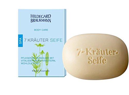 Hildegard Braukmann Emosie Body 7 Kräuter Seife, 3er Pack (3 x 150 ml) (Kräuter-seife Rosmarin)