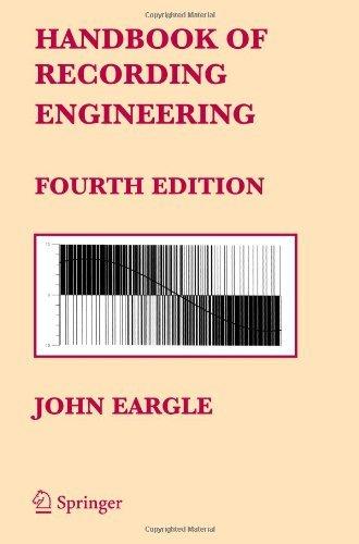 Handbook of Recording Engineering by John Eargle (16-Sep-2005) Paperback