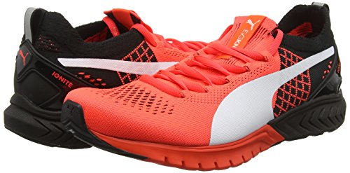 Puma Ignite Dual Proknit  Unisex Adults Fitness  Red  Red Black White 01   12 UK  47 EU