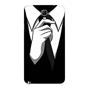Gorgeous Tie Knot Back Case Cover for Galaxy Note 3 Neo