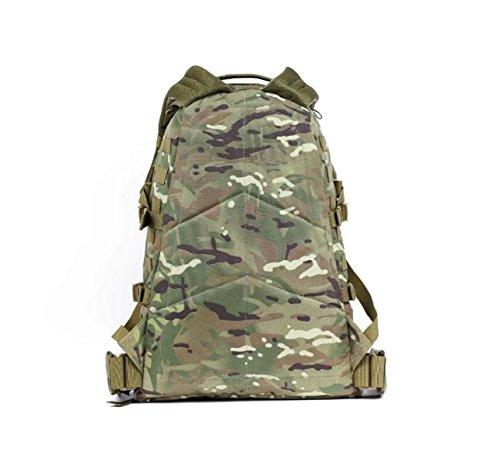 3D Zaino All'aperto Camuffamento Arrampicata Borsa Casuale Multifunzionale Zaino,Green-OneSize ATcamouflage