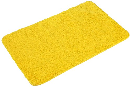 PANA AZ_FLORENZ_10 Microfaser Badematte, 50 x 80 cm, gelb