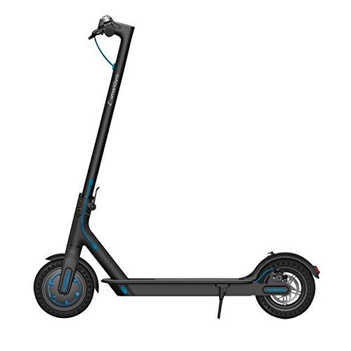 """Smartgyro Xtreme City Black - Scooter Eléctrico 8,5"""" con Batería LG y ruedas macizas antipinchazos, color Negro"""