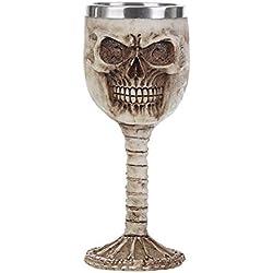 Coolest Gótico de resina calavera Goblet Retro garra vino copas de cóctel 180.00 * 70.00 * 70.00mm Skull