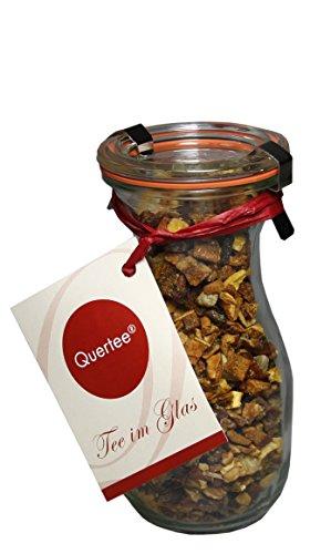 Tee im Glas - Früchtetee - Birne Ingwer in einer Weck® Flasche - 120 g Tee